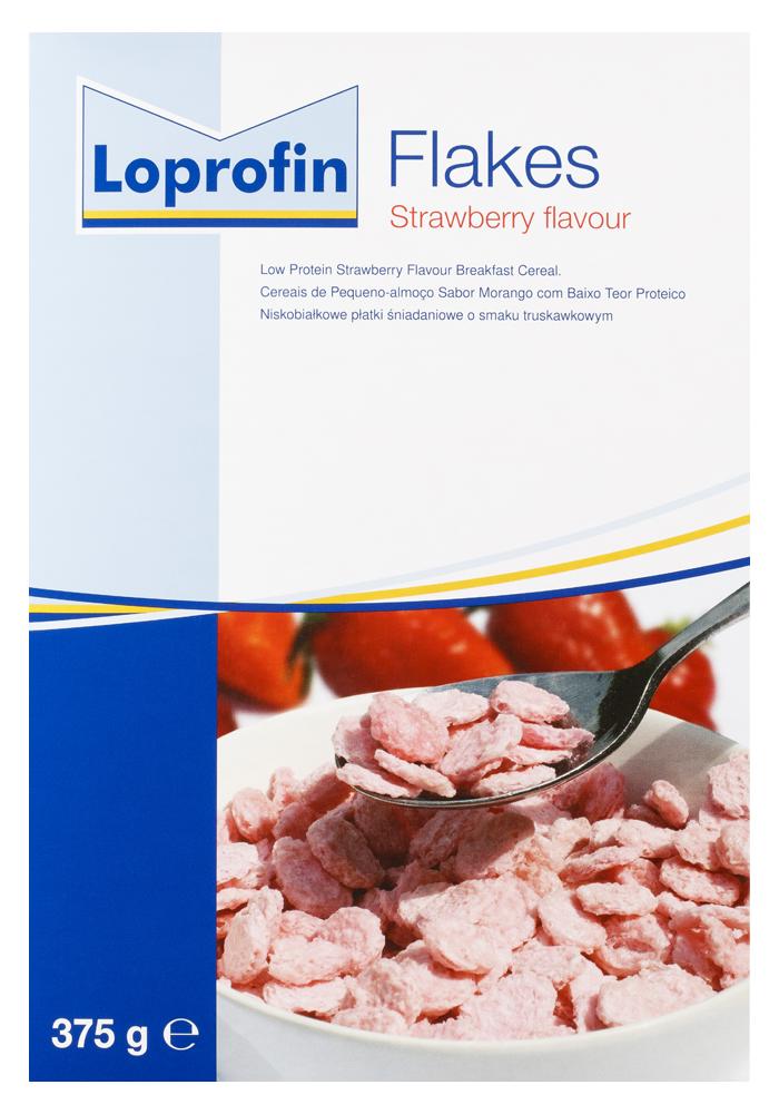 Loprofin Flakes Strawberry   Paediatrics Healthcare   Nutricia
