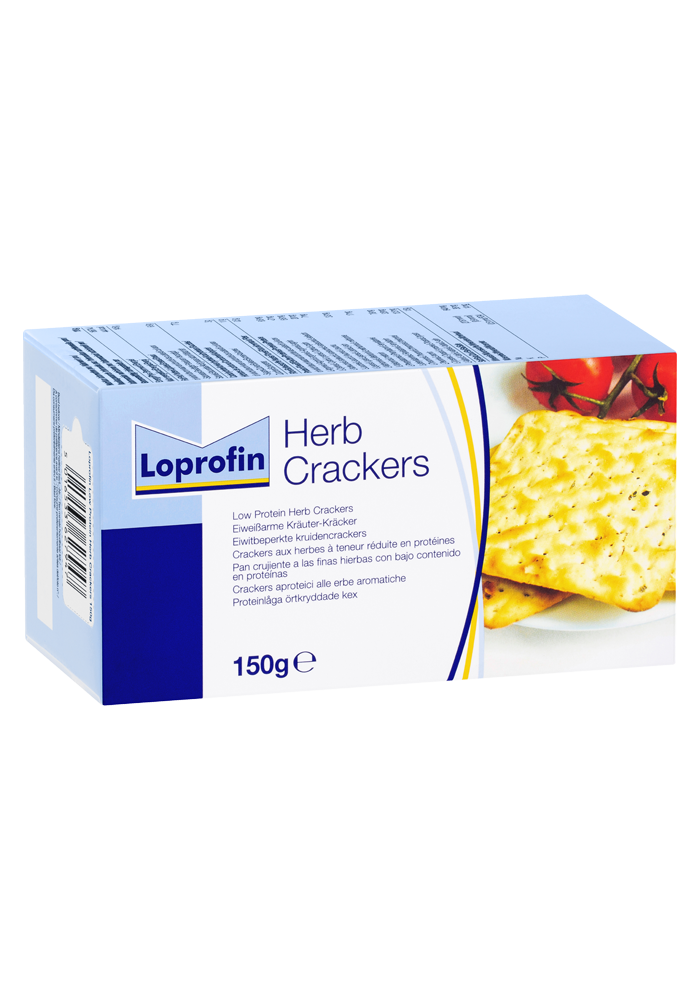 Loprofin Low Protein Crackers | Paediatrics Healthcare | Nutricia