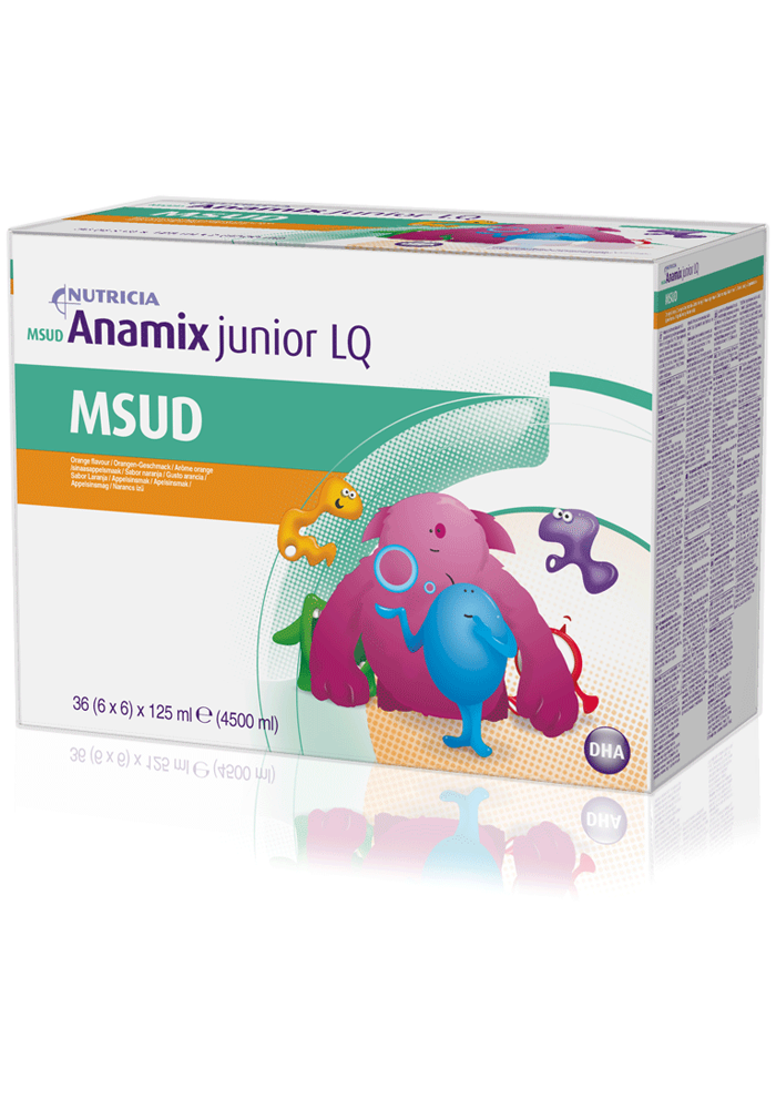 MSUD Anamix Junior LQ Box | Paediatrics Healthcare | Nutricia