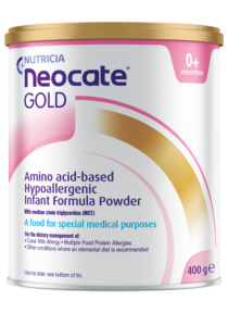 Neocate Gold | Paediatrics Healthcare | Nutricia