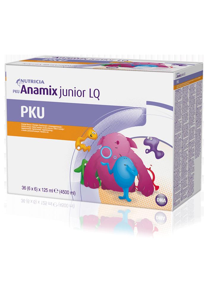 PKU Anamix Junior LQ Orange Box | Paediatrics Healthcare | Nutricia
